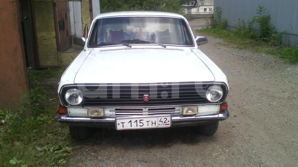 Подержанный ГАЗ 24 Волга, среднее состояние, белый , 1981 года выпуска, цена 27 000 руб. в Кемеровской области