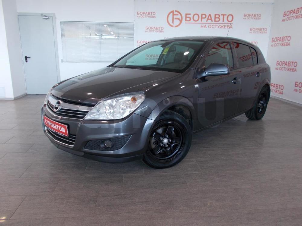 Opel Astra с пробегом, серый , отличное состояние, 2010 года выпуска, цена 377 000 руб. в автосалоне  ()