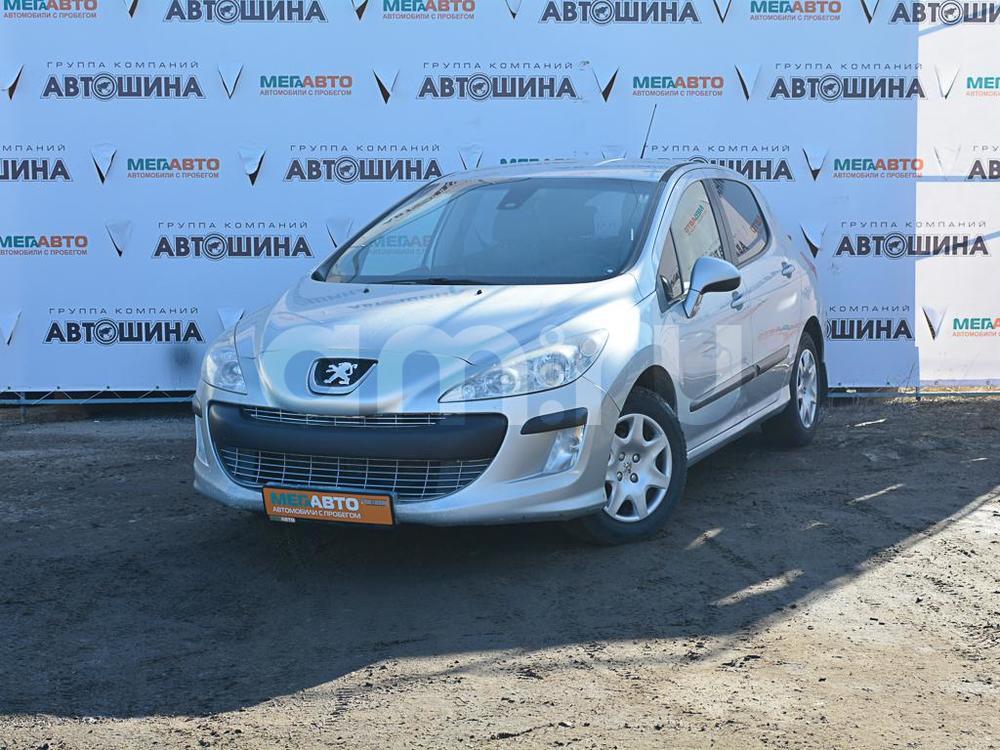 Peugeot 308 с пробегом, серебряный , отличное состояние, 2009 года выпуска, цена 300 000 руб. в автосалоне Мега Авто Калуга (Калуга, ул. Зерновая, д. 28)
