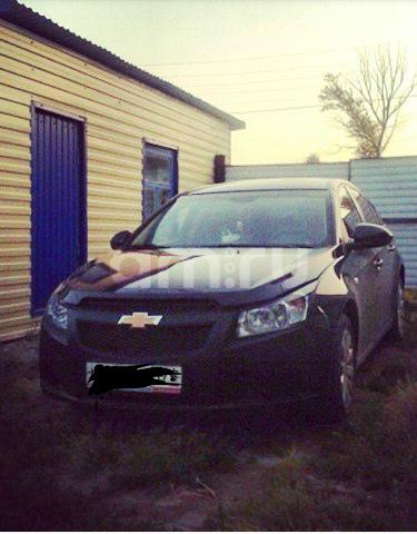 Подержанный Chevrolet Cruze, хорошее состояние, черный металлик, 2011 года выпуска, цена 450 000 руб. в Челябинской области