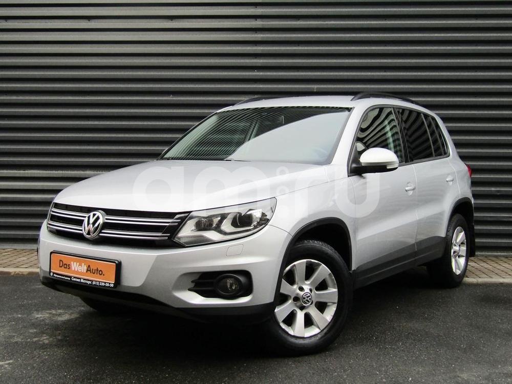 Volkswagen Tiguan с пробегом, серебряный металлик, отличное состояние, 2012 года выпуска, цена 936 300 руб. в автосалоне  ()