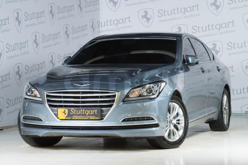 Hyundai Genesis с пробегом, серый , отличное состояние, 2015 года выпуска, цена 1 650 000 руб. в автосалоне  ()