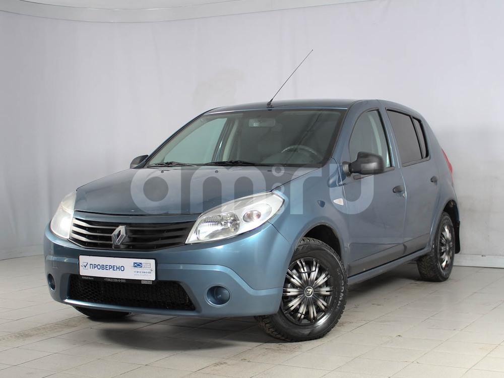 Renault Sandero с пробегом, синий , отличное состояние, 2012 года выпуска, цена 360 000 руб. в автосалоне  ()