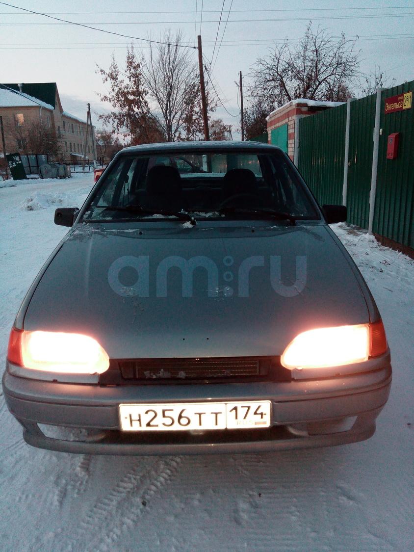 Подержанный ВАЗ (Lada) 2115, хорошее состояние, серый металлик, 2010 года выпуска, цена 140 000 руб. в Челябинской области
