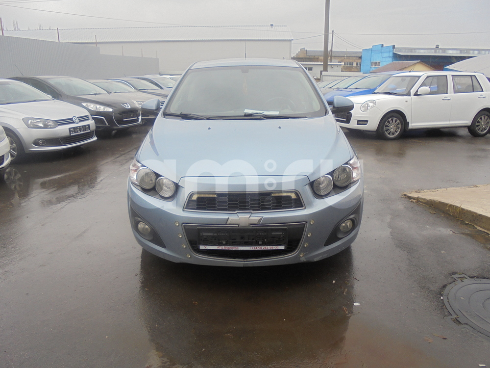 Chevrolet Aveo с пробегом, голубой металлик, отличное состояние, 2013 года выпуска, цена 485 000 руб. в автосалоне  ()