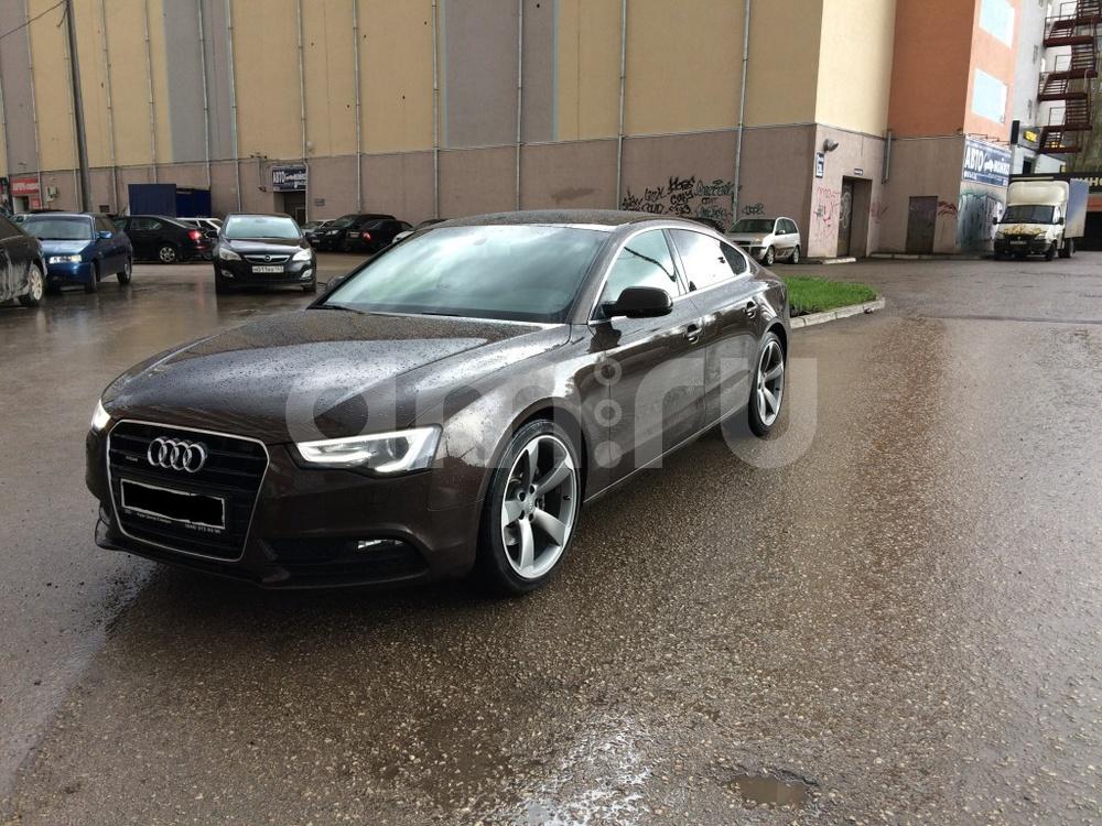 Подержанный Audi A5, отличное состояние, коричневый , 2013 года выпуска, цена 1 600 000 руб. в Самаре