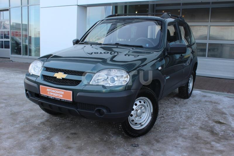 Chevrolet Niva с пробегом, зеленый , отличное состояние, 2012 года выпуска, цена 349 000 руб. в автосалоне  ()