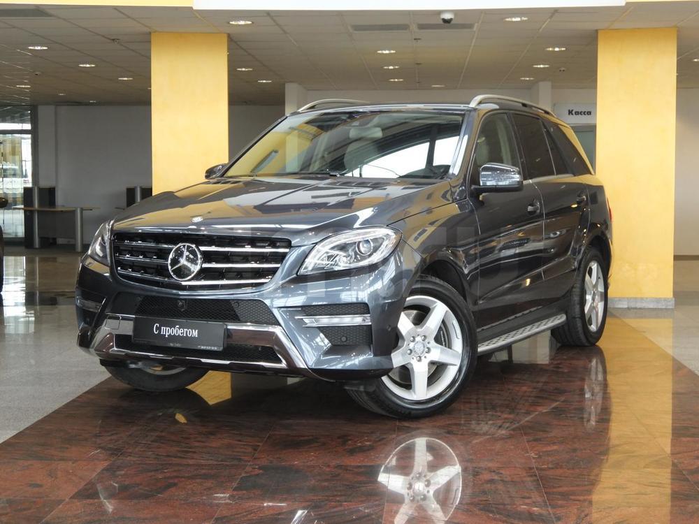 Mercedes-Benz M-Класс с пробегом, серый , отличное состояние, 2013 года выпуска, цена 2 340 000 руб. в автосалоне  ()