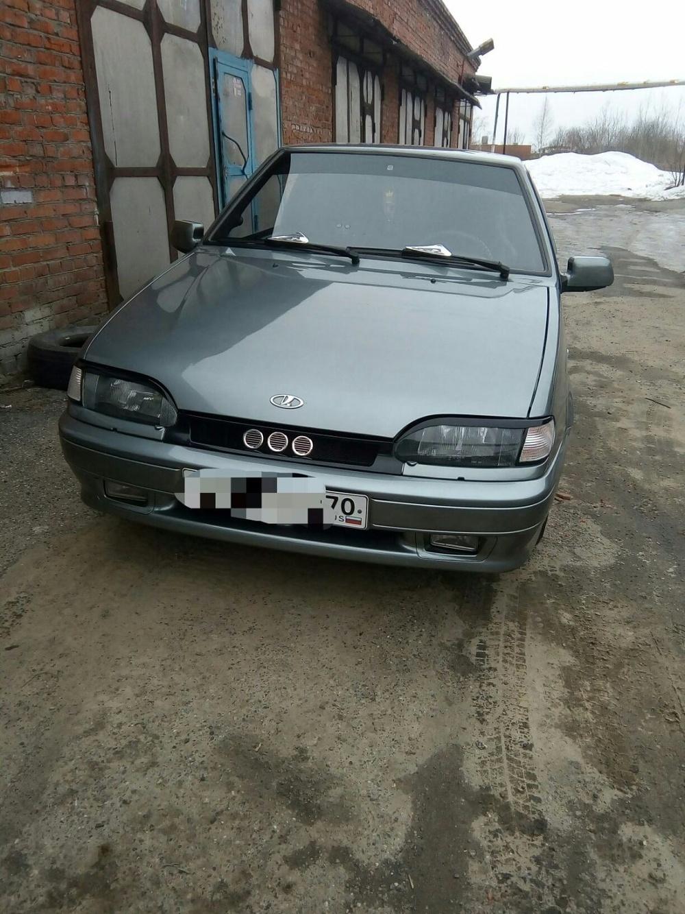 Подержанный ВАЗ (Lada) 2113, отличное состояние, серебряный , 2008 года выпуска, цена 140 000 руб. в Томской области