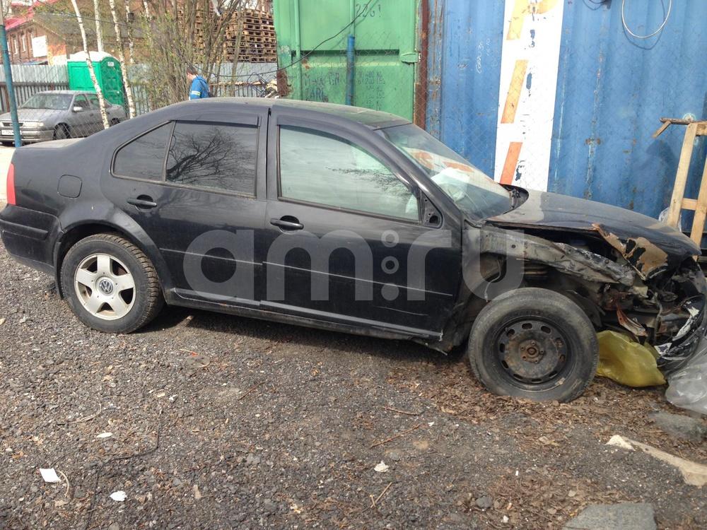 Volkswagen Jetta с пробегом, черный , битый состояние, 1999 года выпуска, цена 85 000 руб. в автосалоне ИР-Авто (Санкт-Петербург, пр-кт Ириновский, д. 1С)