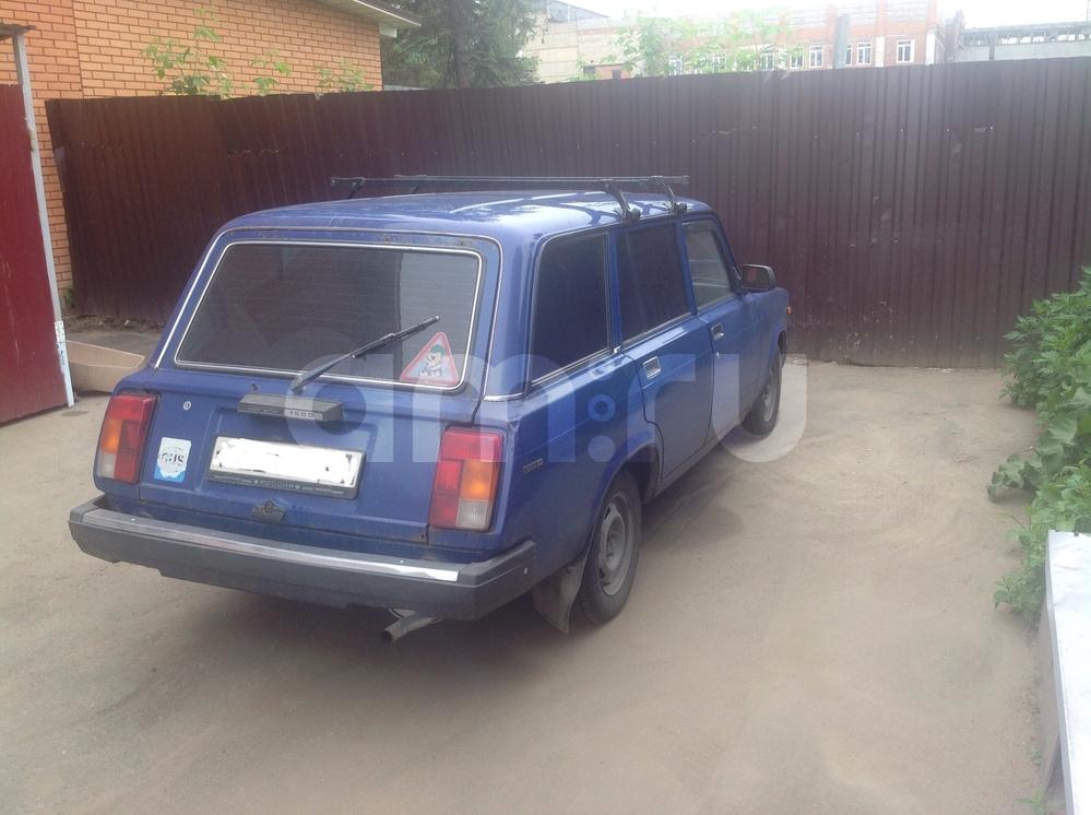 Подержанный ВАЗ (Lada) 2104, хорошее состояние, синий , 2007 года выпуска, цена 60 000 руб. в Смоленской области