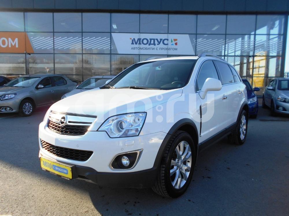 Opel Antara с пробегом, белый , отличное состояние, 2012 года выпуска, цена 890 000 руб. в автосалоне  ()