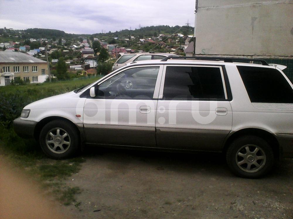 Подержанный Hyundai Santamo, хорошее состояние, белый , 1998 года выпуска, цена 185 000 руб. в Челябинской области