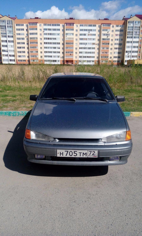 Подержанный ВАЗ (Lada) 2114, отличное состояние, серый , 2011 года выпуска, цена 160 000 руб. в Тюмени