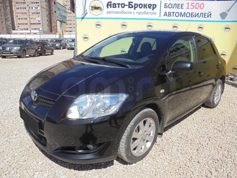 Toyota Auris с пробегом, черный , отличное состояние, 2008 года выпуска, цена 415 000 руб. в автосалоне  ()