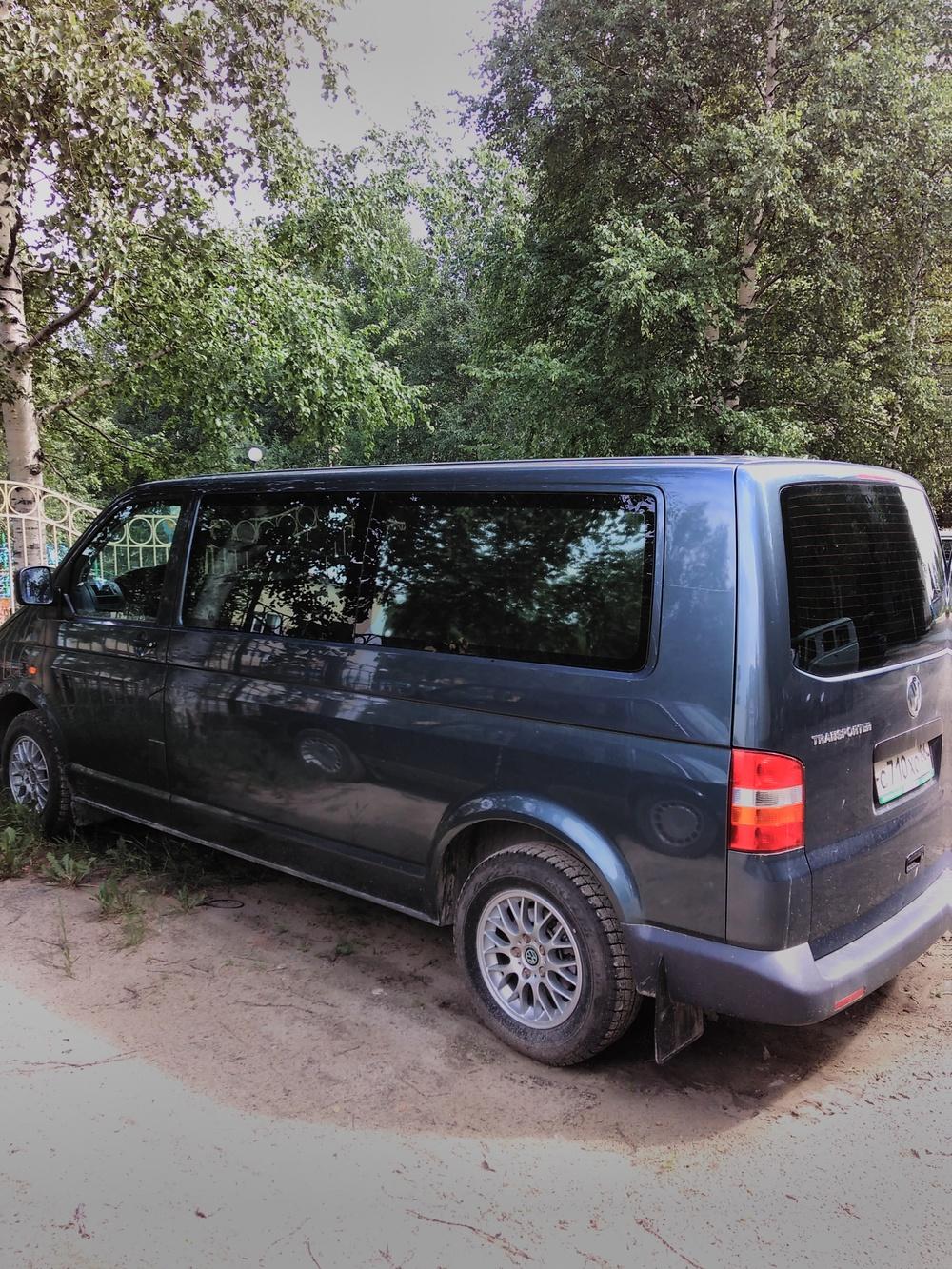 Подержанный Volkswagen Transporter, отличное состояние, синий , 2007 года выпуска, цена 700 000 руб. в ао. Ханты-Мансийском Автономном округе - Югре