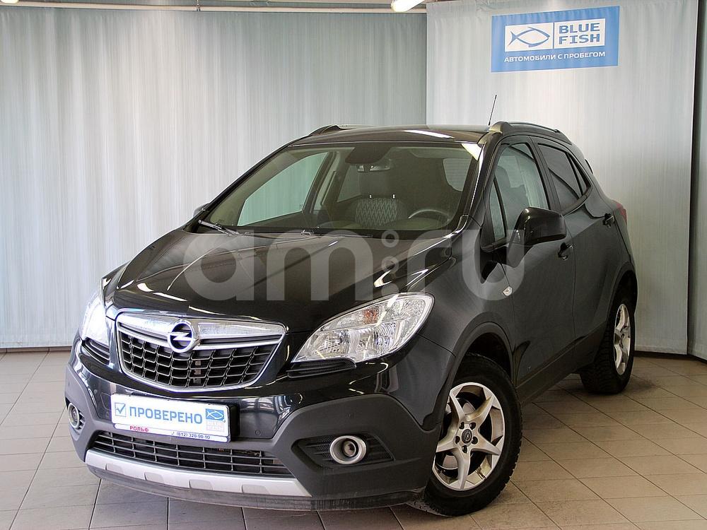 Opel Mokka с пробегом, черный , отличное состояние, 2012 года выпуска, цена 665 000 руб. в автосалоне РОЛЬФ Витебский Blue Fish (Санкт-Петербург, пр-кт Витебский, д. 17, корп. 6)