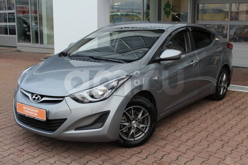 Hyundai Elantra с пробегом, серый , отличное состояние, 2014 года выпуска, цена 659 000 руб. в автосалоне  ()