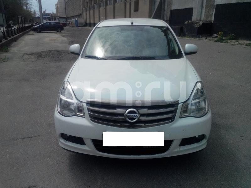 Nissan Almera с пробегом, белый металлик, отличное состояние, 2014 года выпуска, цена 490 000 руб. в автосалоне  ()