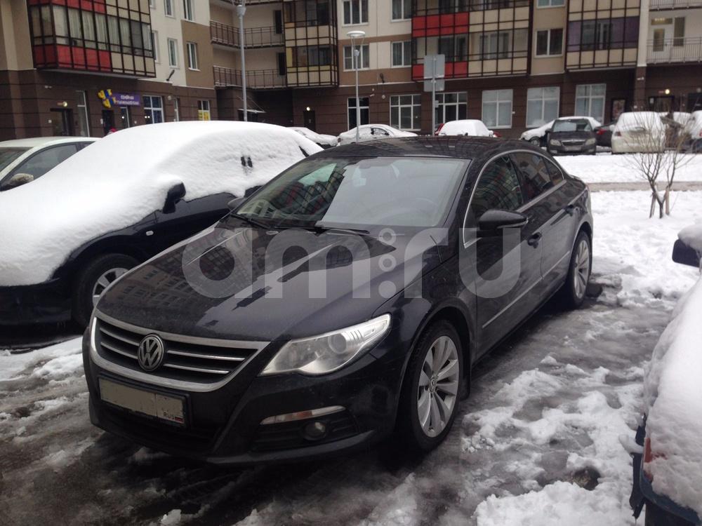 Подержанный Volkswagen Passat CC, отличное состояние, черный , 2010 года выпуска, цена 619 000 руб. в Санкт-Петербурге
