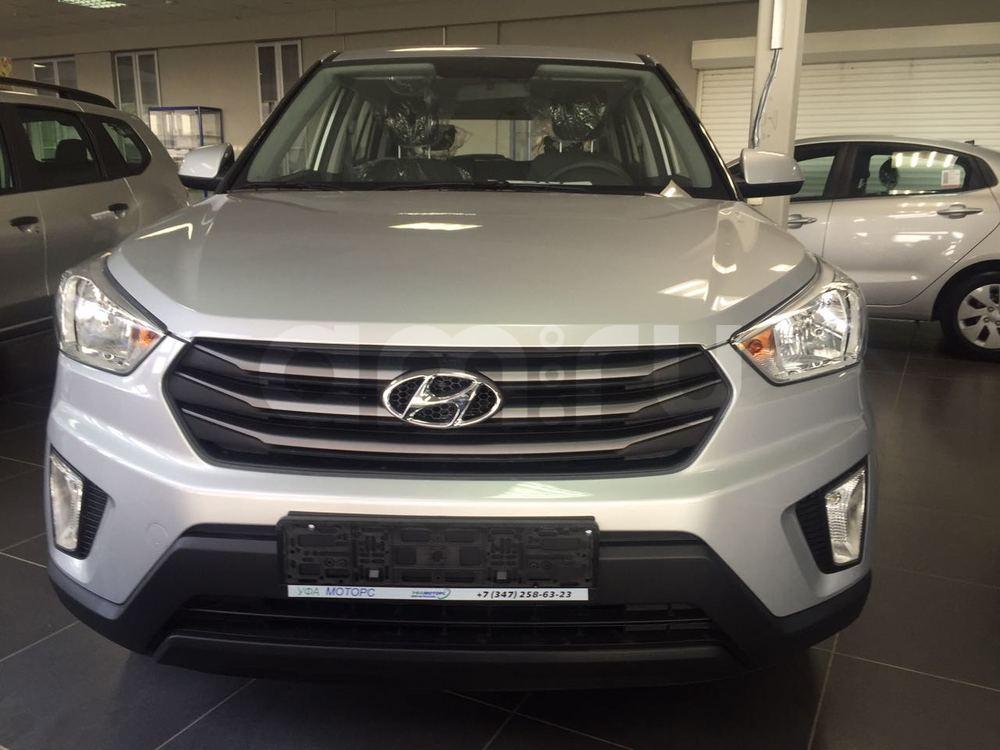 Hyundai Creta с пробегом, серебряный , отличное состояние, 2016 года выпуска, цена 827 000 руб. в автосалоне УФА МОТОРС (Уфа, ул. Сарапульская, д. 35)