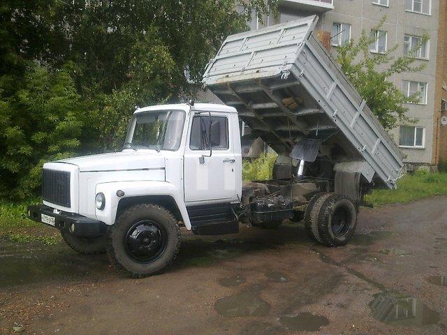 Подержанный ГАЗ 3307, хорошее состояние, белый , 2007 года выпуска, цена 275 000 руб. в Кемеровской области