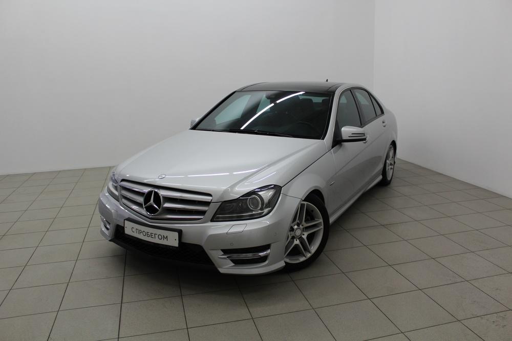 Mercedes-Benz C-Класс с пробегом, серебряный металлик, хорошее состояние, 2012 года выпуска, цена 950 000 руб. в автосалоне  ()