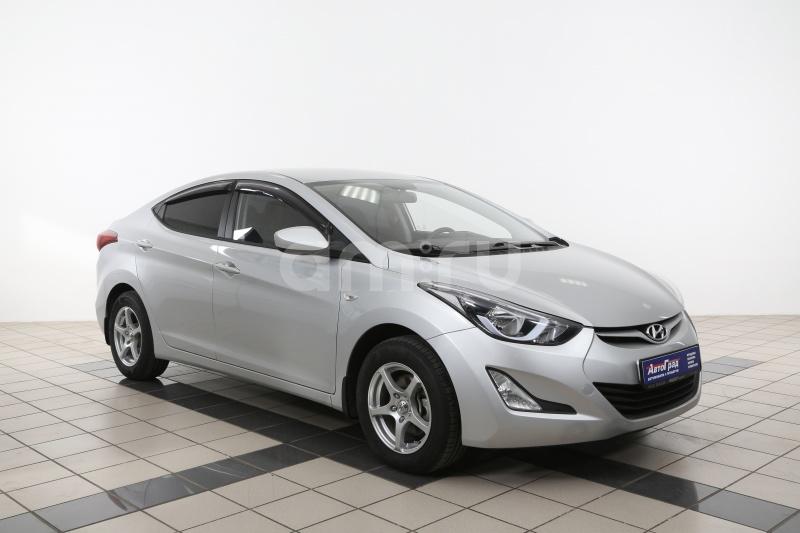 Hyundai Elantra с пробегом, серебряный , отличное состояние, 2014 года выпуска, цена 697 000 руб. в автосалоне  ()
