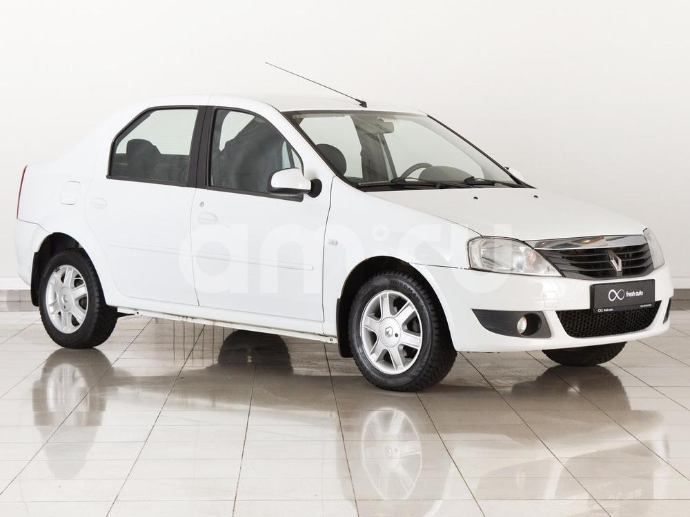 Renault Logan с пробегом, белый , отличное состояние, 2013 года выпуска, цена 377 000 руб. в автосалоне FRESH Нижний Новгород (Нижний Новгород, ул. Коминтерна, д. 31Ж)