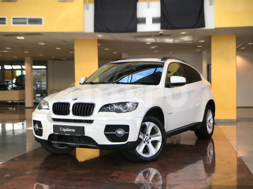 BMW X6 с пробегом, белый , отличное состояние, 2012 года выпуска, цена 2 042 000 руб. в автосалоне  ()