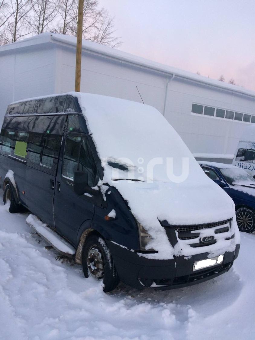Подержанный Ford Transit, хорошее состояние, синий , 2012 года выпуска, цена 400 000 руб. в Архангельске