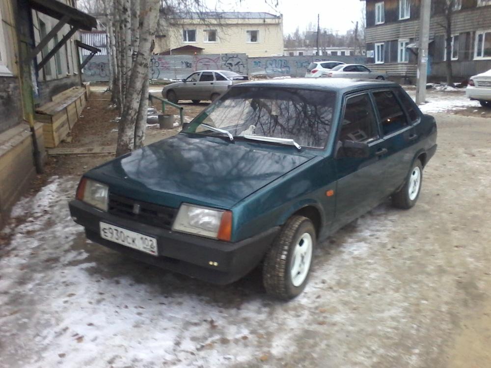 Подержанный ВАЗ (Lada) 2109, отличное состояние, зеленый металлик, 1996 года выпуска, цена 45 000 руб. в ао. Ханты-Мансийском Автономном округе - Югре