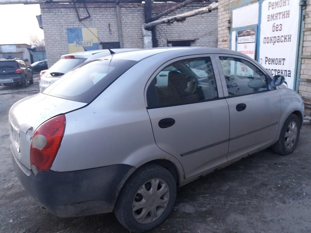 Подержанный Chery QQ6, битый состояние, серебряный , 2009 года выпуска, цена 60 000 руб. в Ульяновске