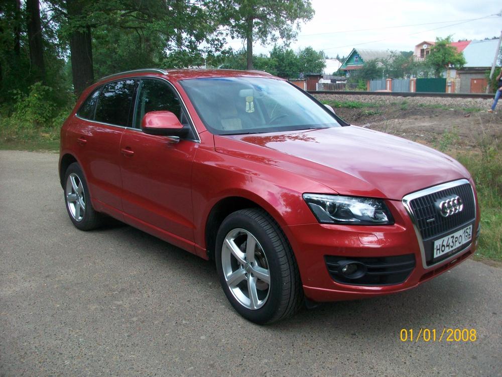 Подержанный Audi Q5, отличное состояние, красный металлик, 2011 года выпуска, цена 1 285 000 руб. в республике Татарстане