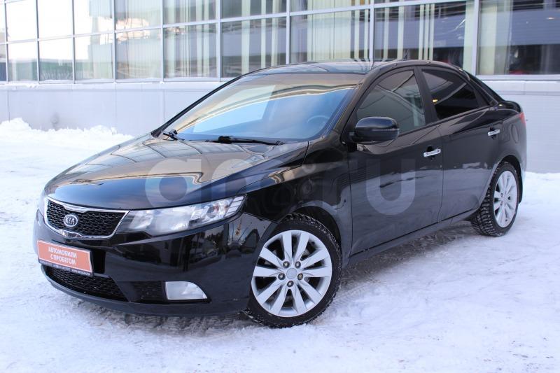 Kia Cerato с пробегом, черный , отличное состояние, 2011 года выпуска, цена 650 000 руб. в автосалоне  ()