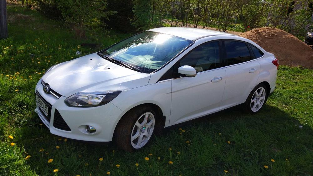 Подержанный Ford Focus, отличное состояние, белый , 2011 года выпуска, цена 489 000 руб. в Тверской области