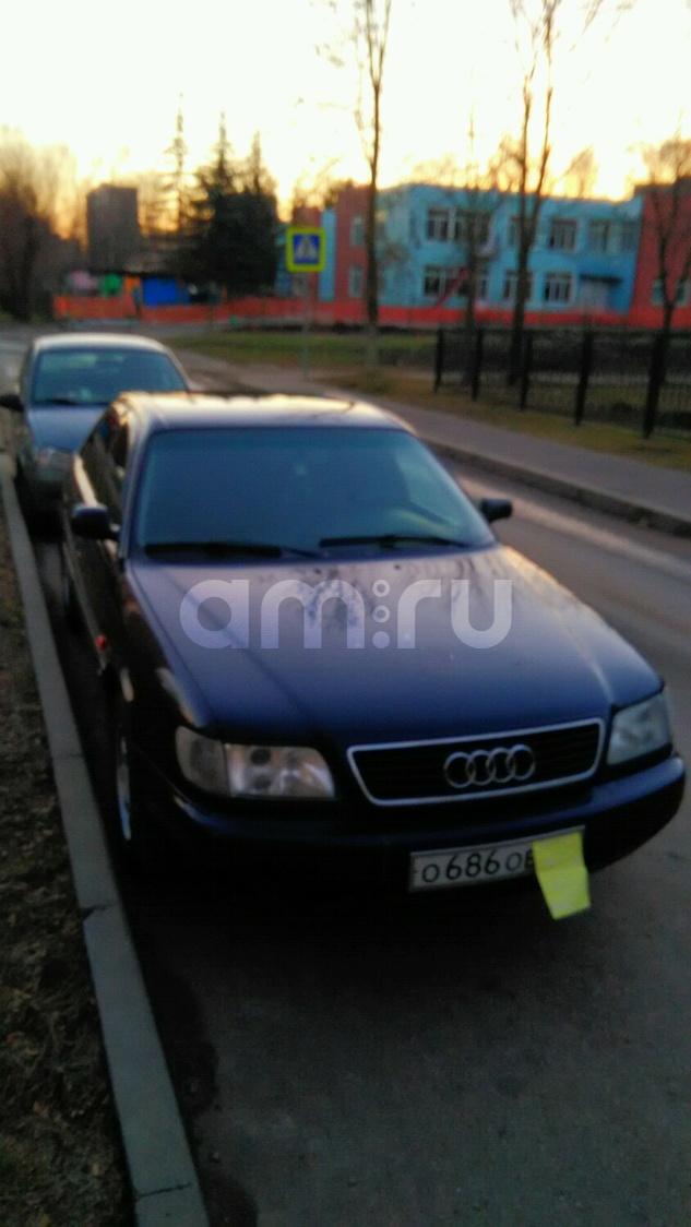 Подержанный Audi A6, среднее состояние, синий , 1997 года выпуска, цена 190 000 руб. в Смоленской области