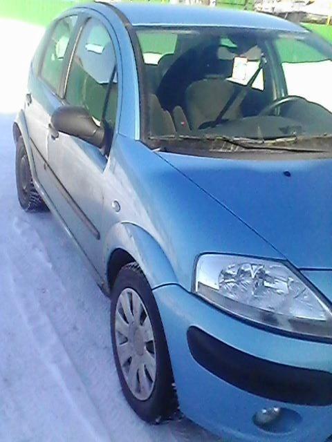 Подержанный Citroen C3, среднее состояние, голубой , 2006 года выпуска, цена 220 000 руб. в Ульяновской области