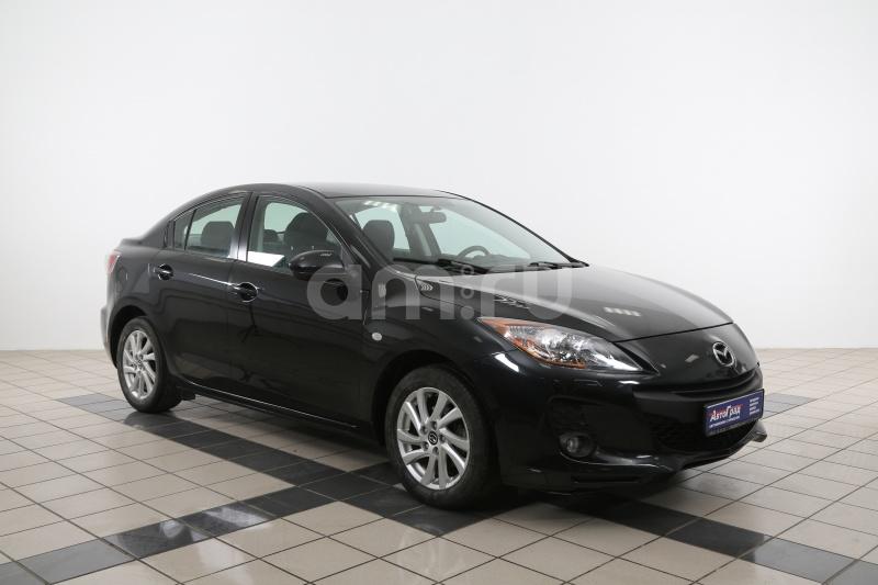 Mazda 3 с пробегом, черный , отличное состояние, 2012 года выпуска, цена 558 000 руб. в автосалоне  ()