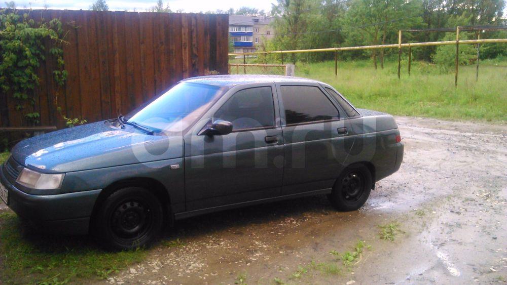 Подержанный ВАЗ (Lada) 2110, отличное состояние, зеленый , 2007 года выпуска, цена 105 000 руб. в Ульяновской области