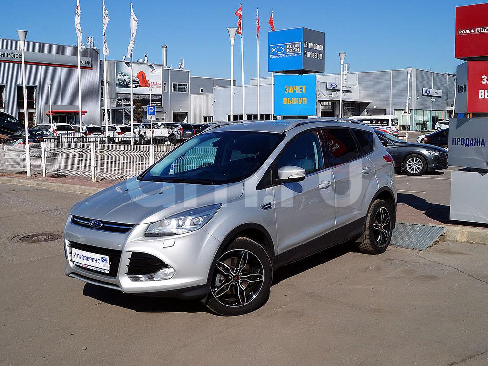 Ford Kuga с пробегом, серебряный , отличное состояние, 2014 года выпуска, цена 1 159 000 руб. в автосалоне  ()