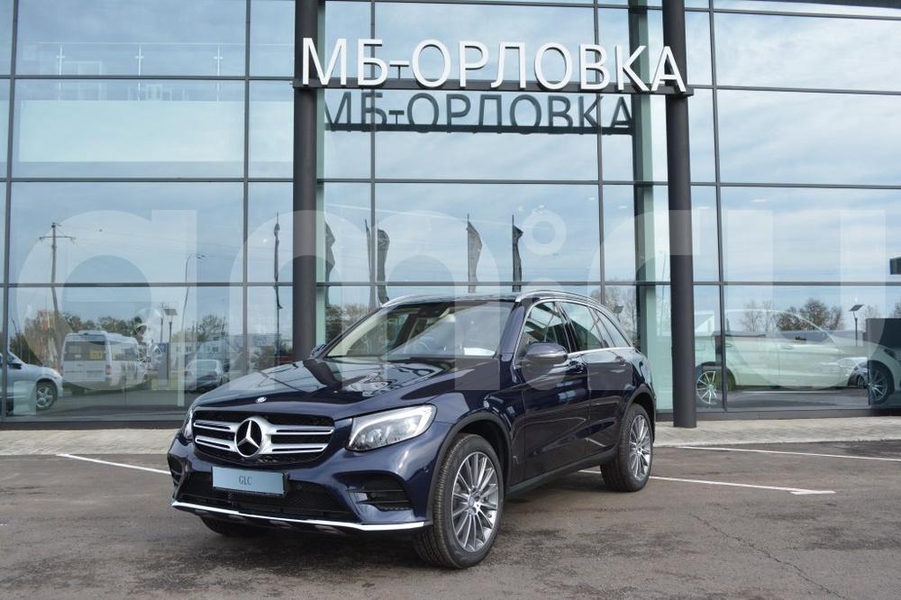 Новый авто Mercedes-Benz GLC-Класс, синий металлик, 2016 года выпуска, цена 3 764 895 руб. в автосалоне МБ-Орловка (Набережные Челны, тракт Мензелинский, д. 24)
