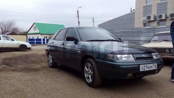 Подержанный ВАЗ (Lada) 2112, хорошее состояние, зеленый , 2007 года выпуска, цена 140 000 руб. в республике Татарстане