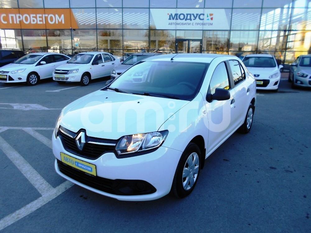Renault Logan с пробегом, белый , отличное состояние, 2014 года выпуска, цена 435 000 руб. в автосалоне  ()