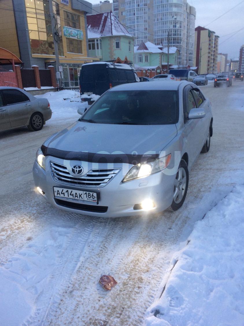 Подержанный Toyota Camry, отличное состояние, серебряный , 2006 года выпуска, цена 655 000 руб. в ао. Ханты-Мансийском Автономном округе - Югре
