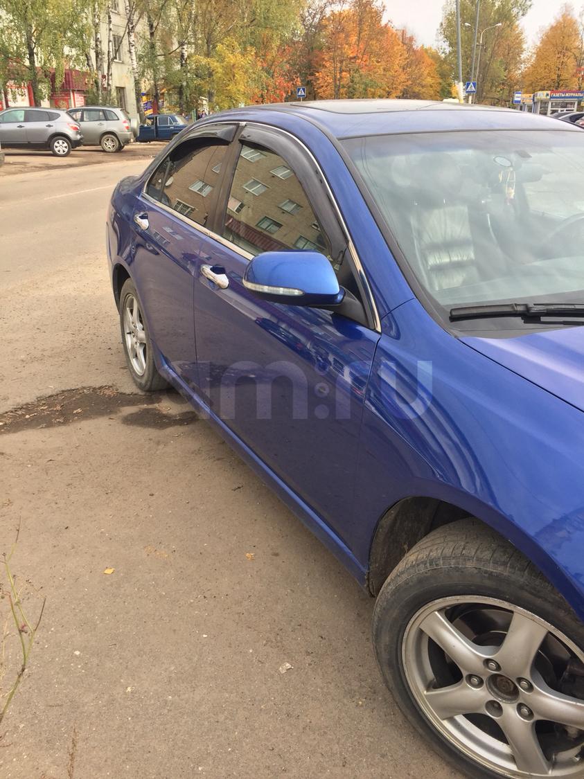 Подержанный Honda Accord, хорошее состояние, синий , 2005 года выпуска, цена 420 000 руб. в Смоленской области