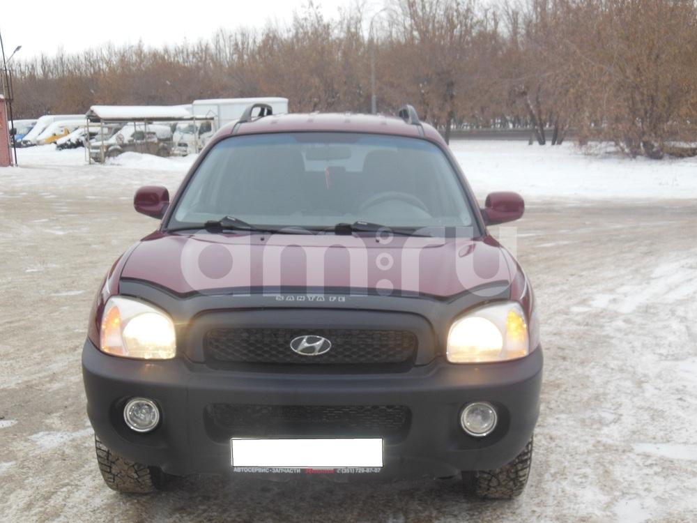 Hyundai Santa Fe с пробегом, бордовый металлик, хорошее состояние, 2003 года выпуска, цена 460 000 руб. в автосалоне  ()