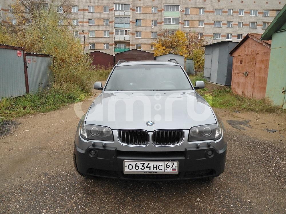 Подержанный BMW X3, отличное состояние, серебряный , 2005 года выпуска, цена 650 000 руб. в Смоленской области