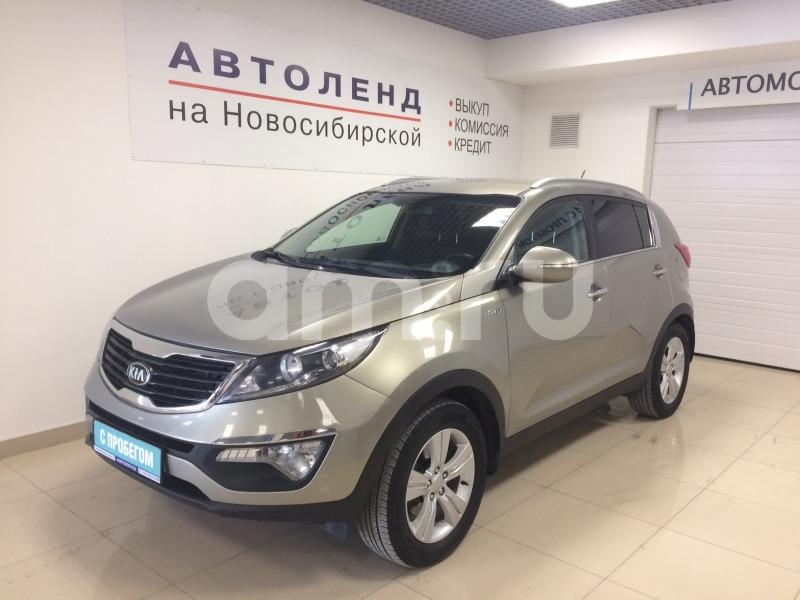 Kia Sportage с пробегом, серебряный , отличное состояние, 2013 года выпуска, цена 885 000 руб. в автосалоне  ()