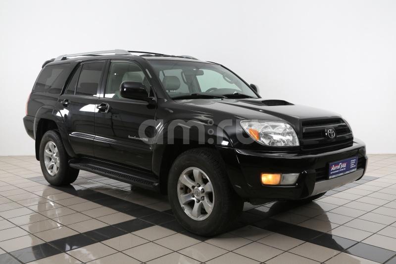 Toyota 4Runner с пробегом, черный , отличное состояние, 2004 года выпуска, цена 982 000 руб. в автосалоне АвтоГрад Нормандия (Иваново, ул. Полка Нормандия-Неман, д. 7, стр. 2)